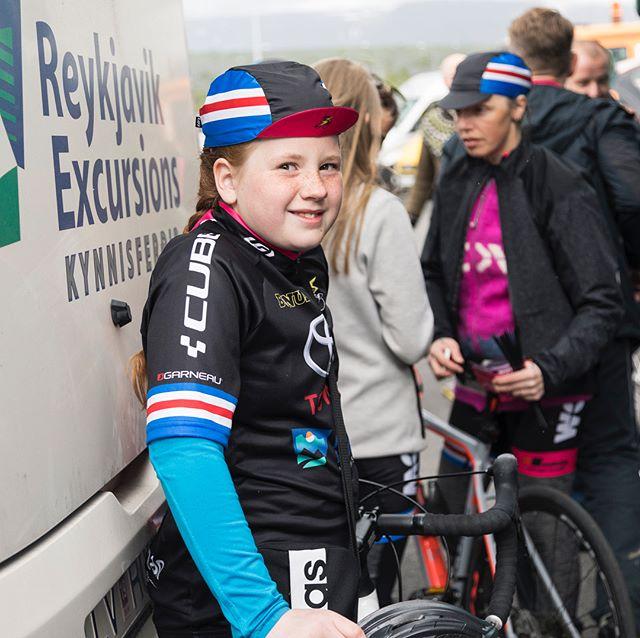 Individuals and Hjólakraftur have officially started the WOW cyclothon 2018! 💥👊🏻 - #wowcyclothon 📸 Rut Sigurðardóttir