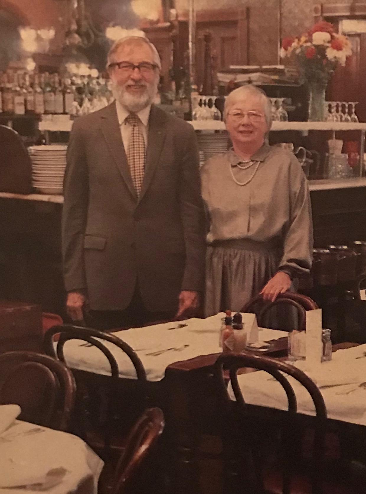 Ed and Trudy Dewey, 1985