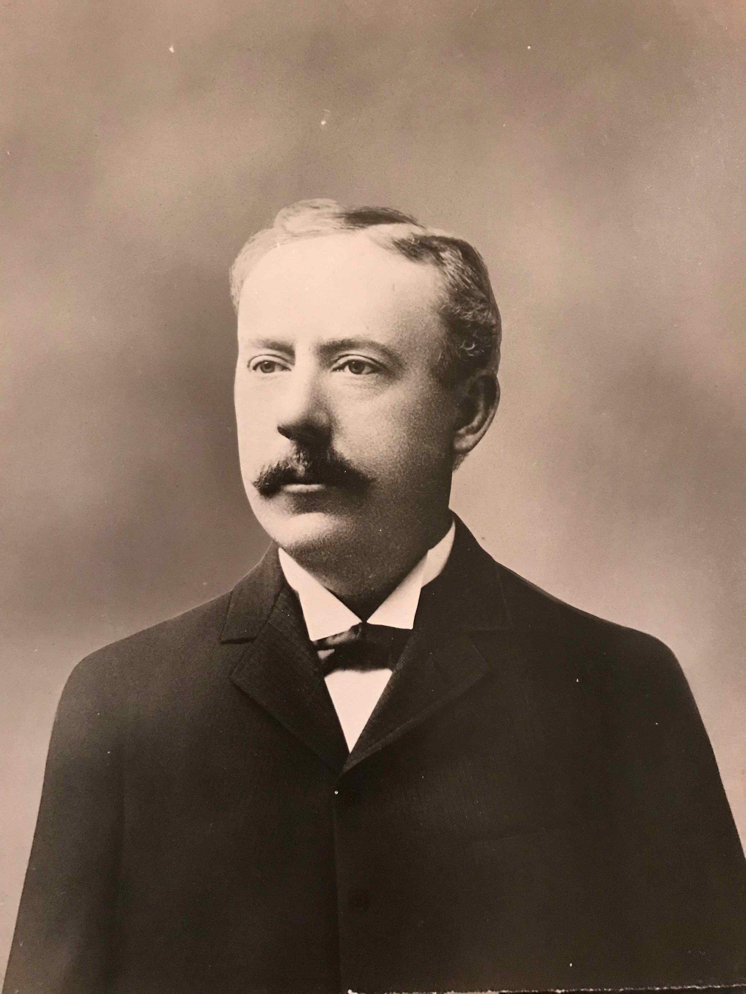 Charles M. Gage, circa 1890