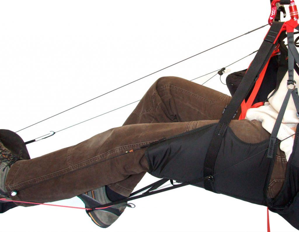 Lightweight speed bar with three flexible steps