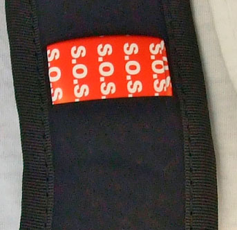 SOS label