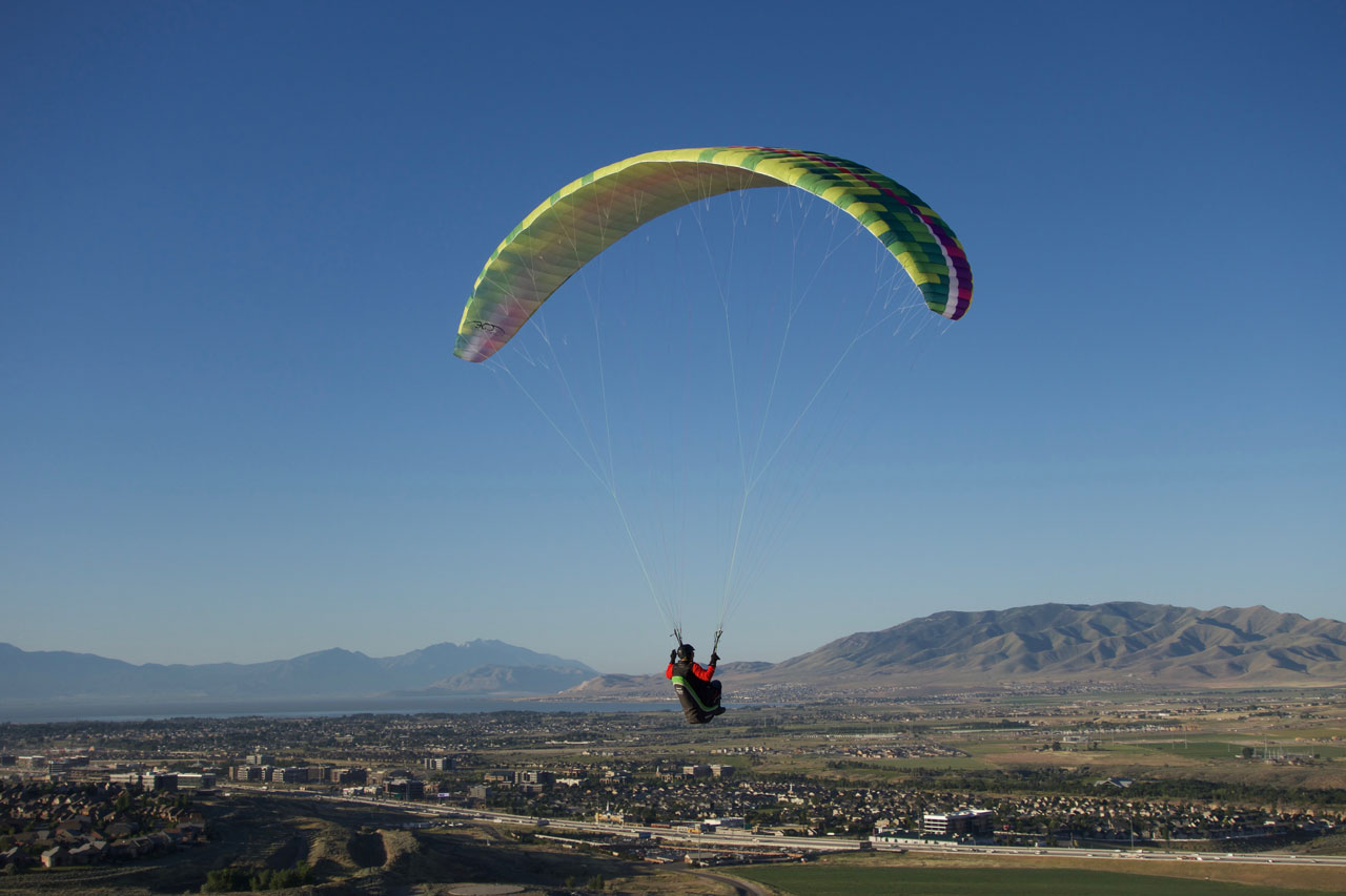 Calef Soaring, photo Ryan Dunn