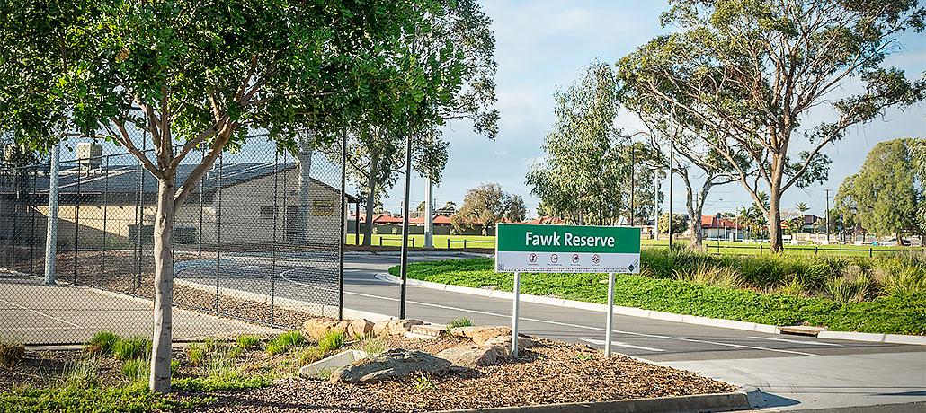 Fawk Reserve Redevelopment