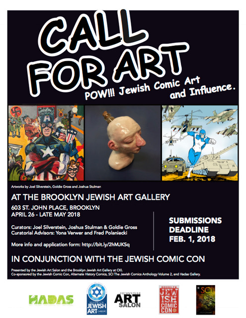 We Want Your Work! - The SECOND annual Jewish Comic Con approacheth!!
