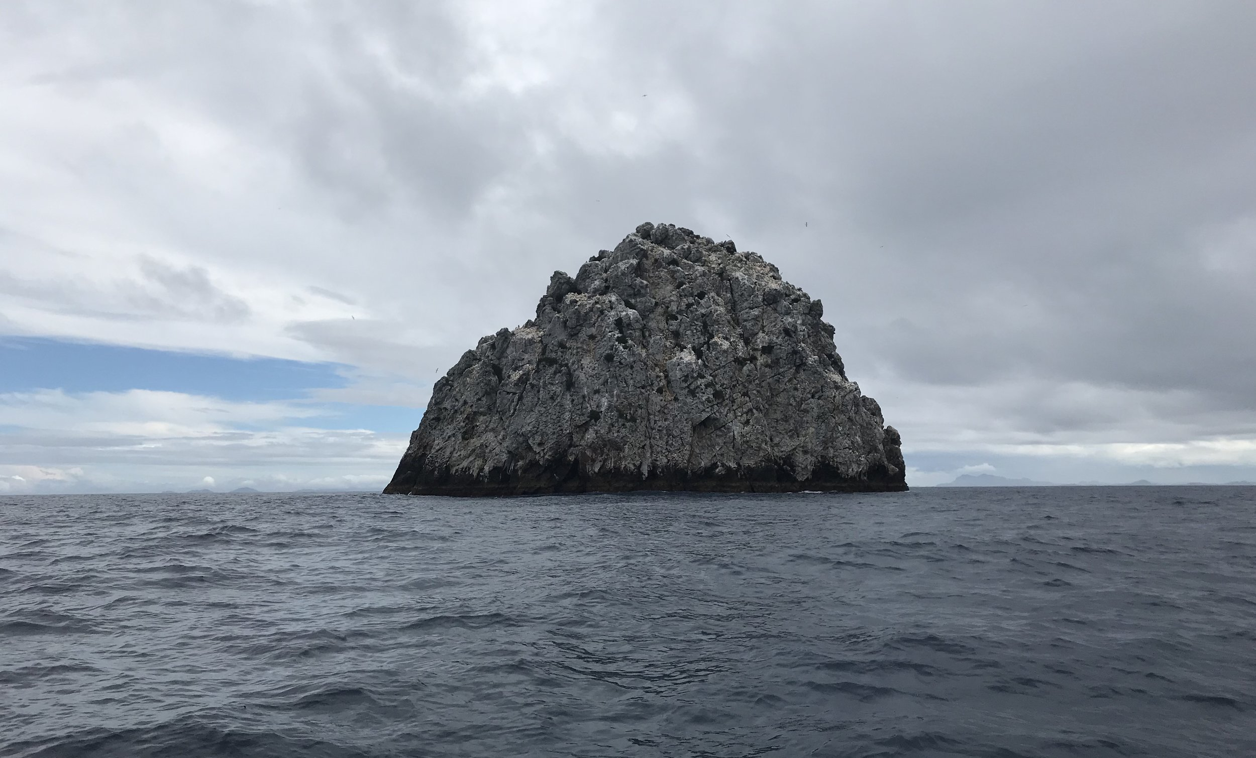 Sugarloaf Rock at the Poor Knights Islands marine reserve in Northland