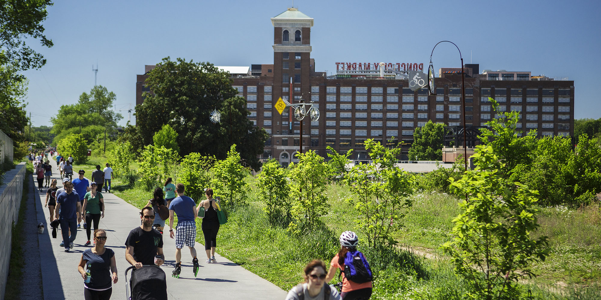 The anticipated completion date for the Atlanta Beltline is 2030. Photo credit www.highline.org
