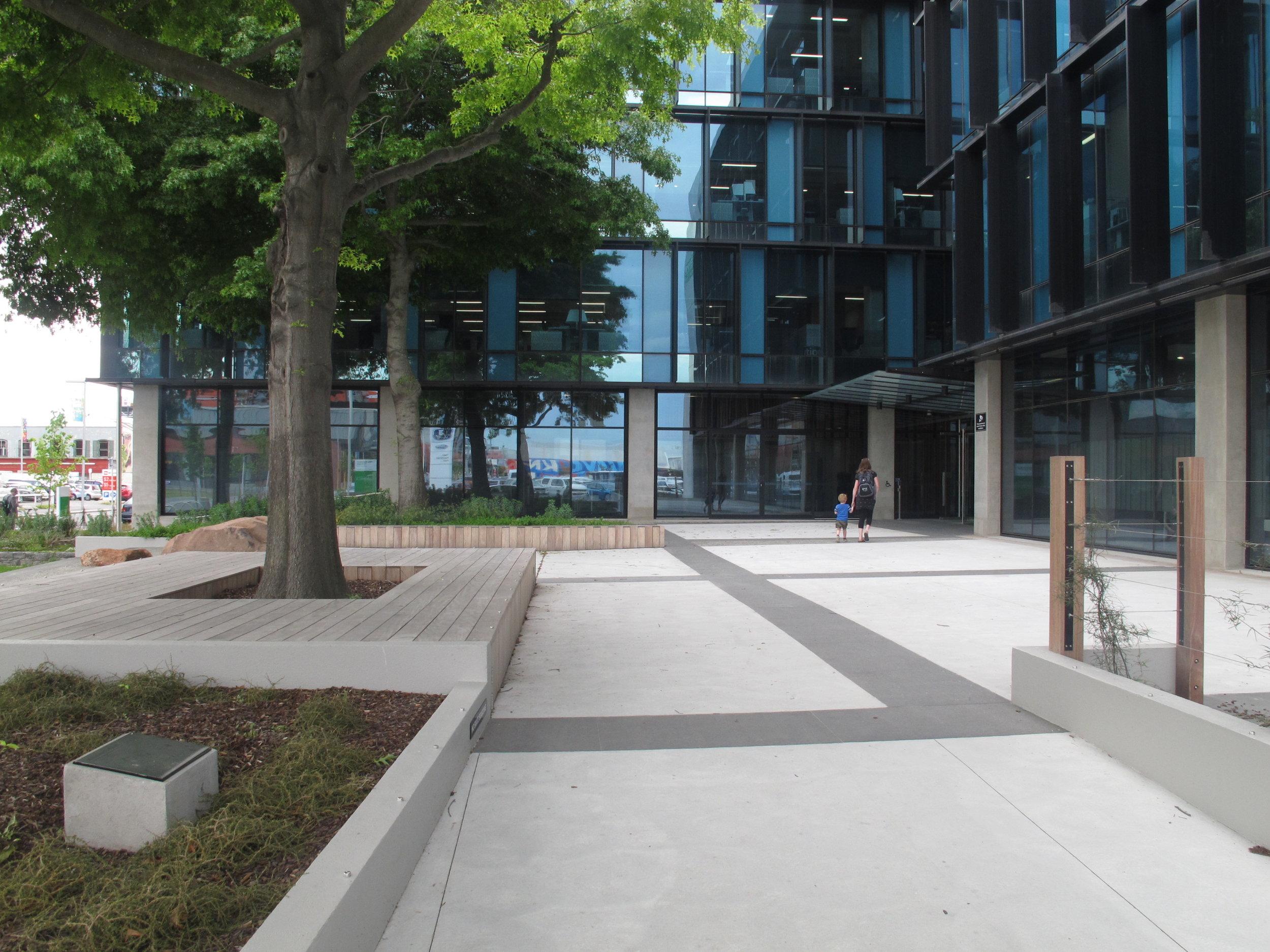 ECAN-building-paving-trees.JPG