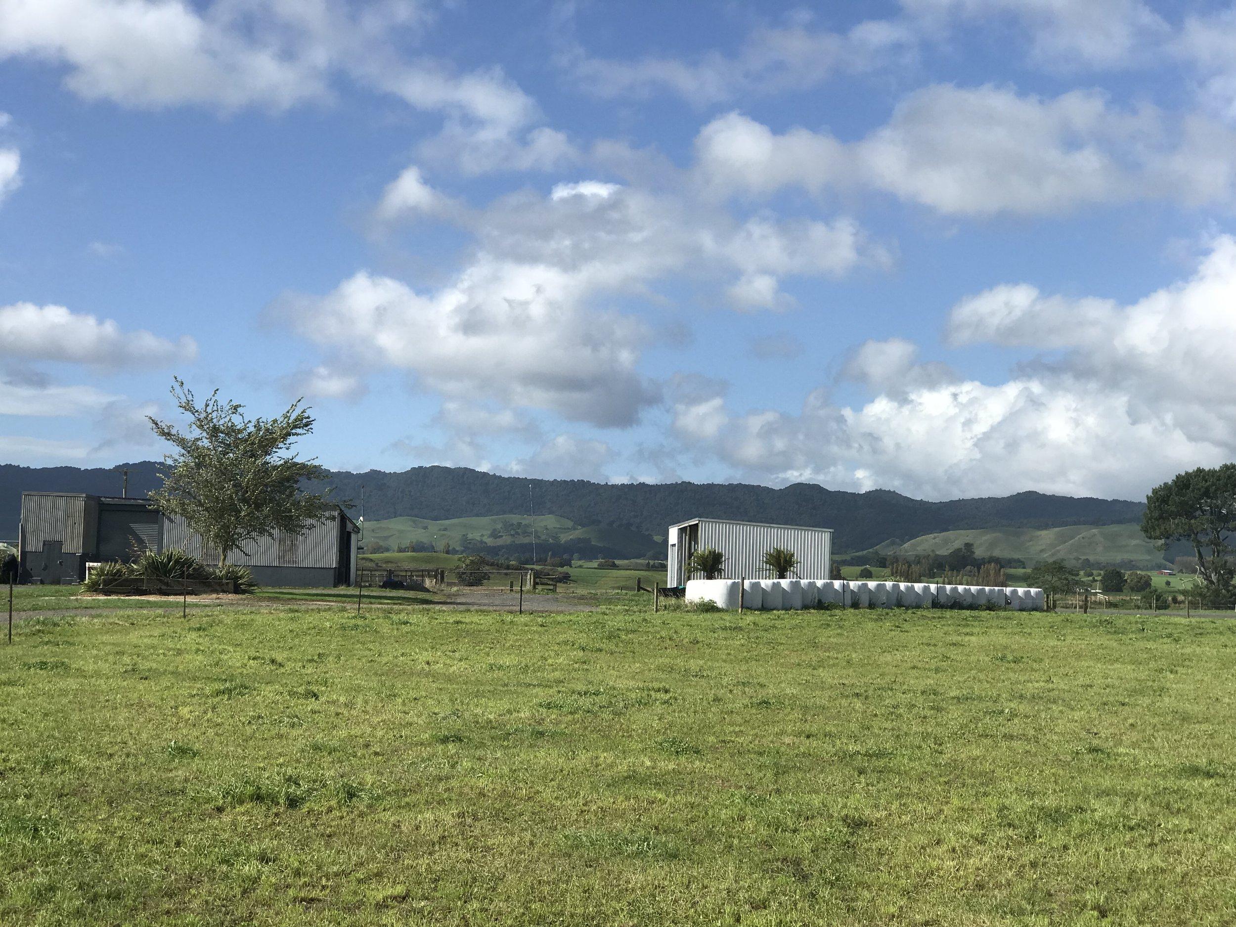 Farmland in south Waikato.