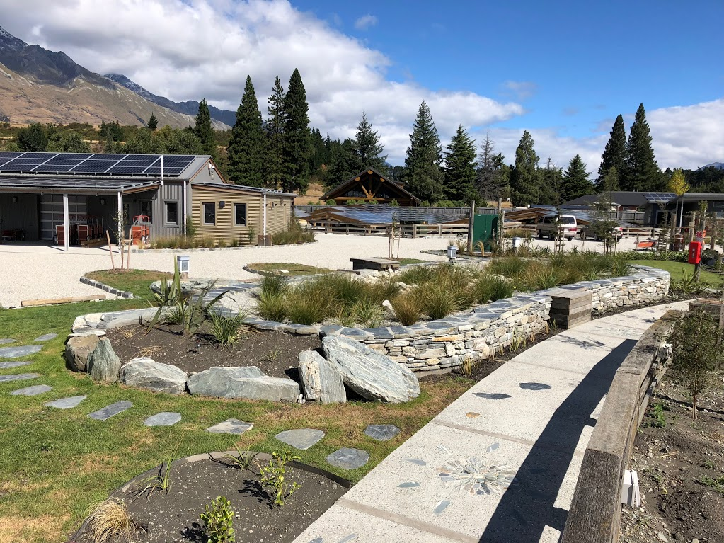 Camp Glenorchy is aiming for net zero energy usage.