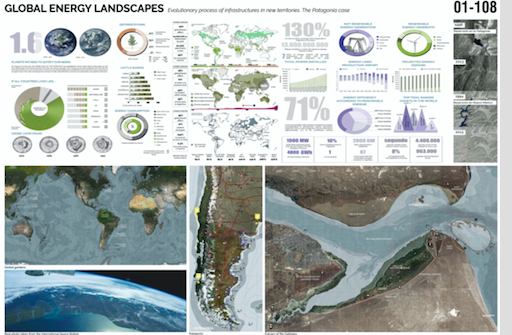 The 'Global Energy Landscapes' project which won last year's IFLA student design competition.