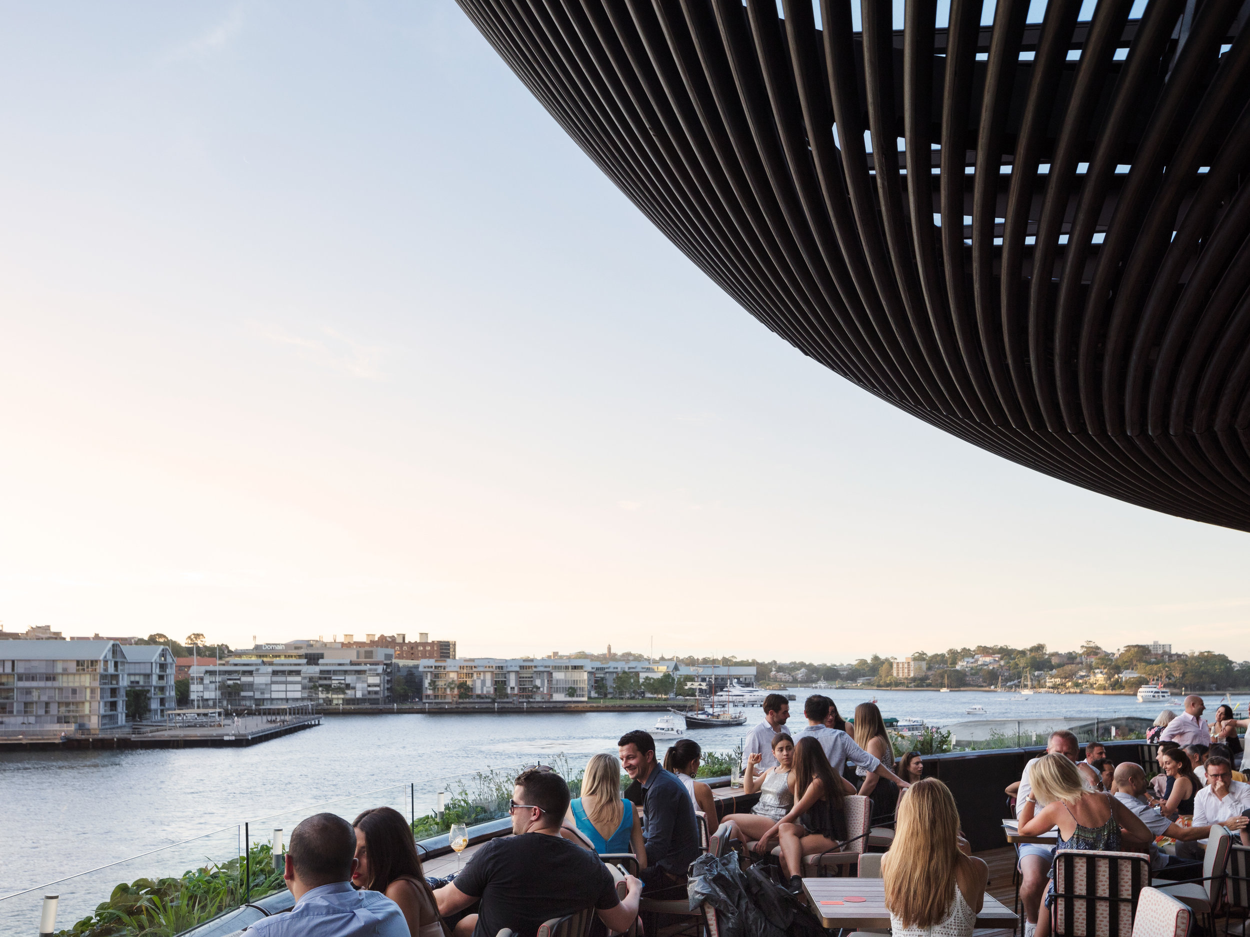 One of the dining experiences within Barangaroo House - photography by Rory Gardiner