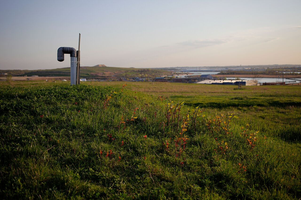 Freshkills Park will be developed from the outside in. Image courtesy of Freshkills Park and the City of New York. Photographer Kipp Wettstein.