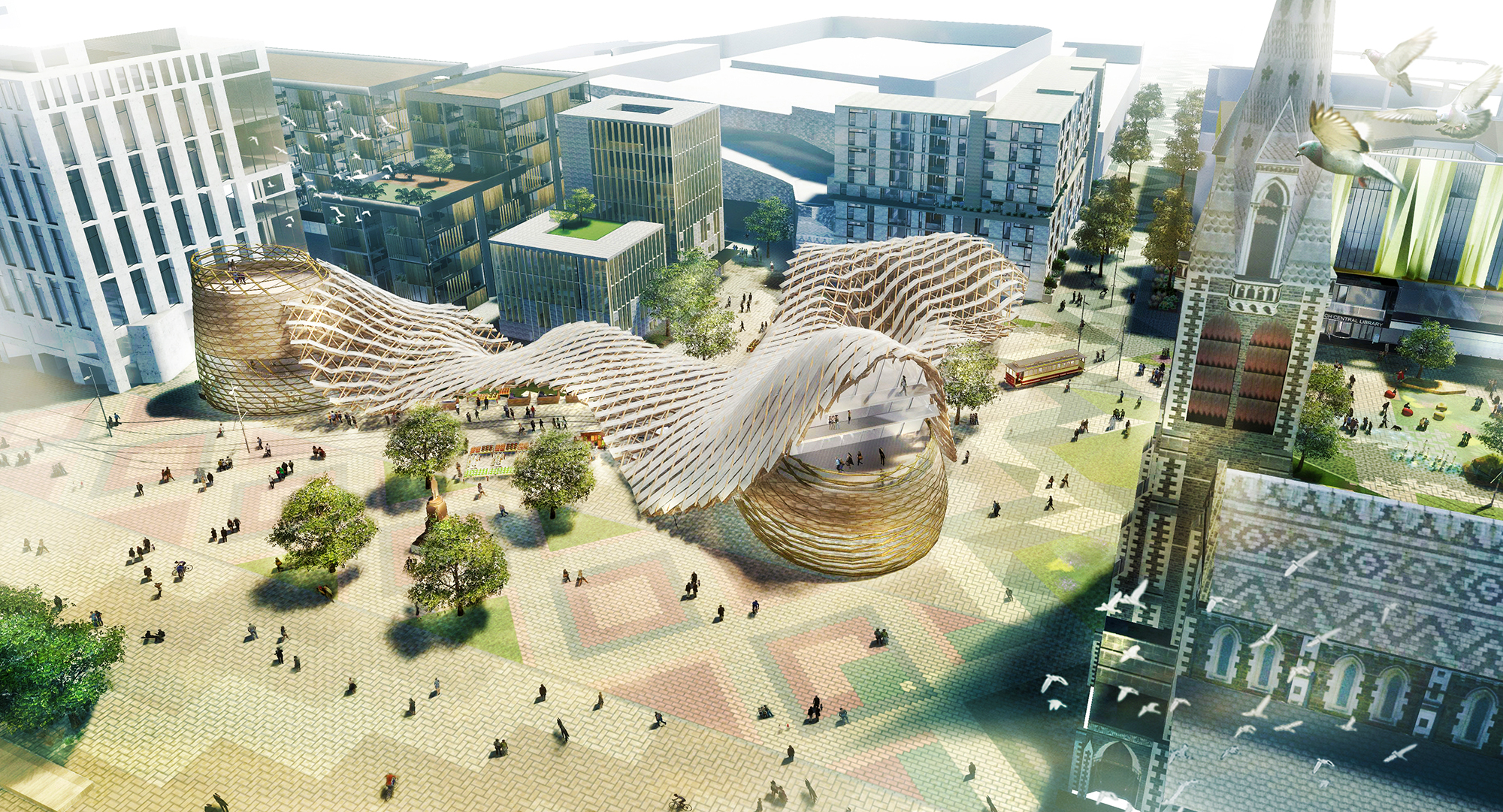 Regenerate Christchurch says Cathedral Square must again become a gathering place.