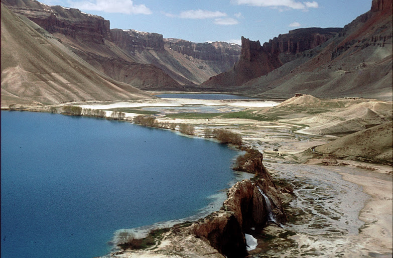 Another of Mike's photos from Afghanistan - these are the travertine walled lakes at Band-e Amir in Afghanistan's Bamyan Province.