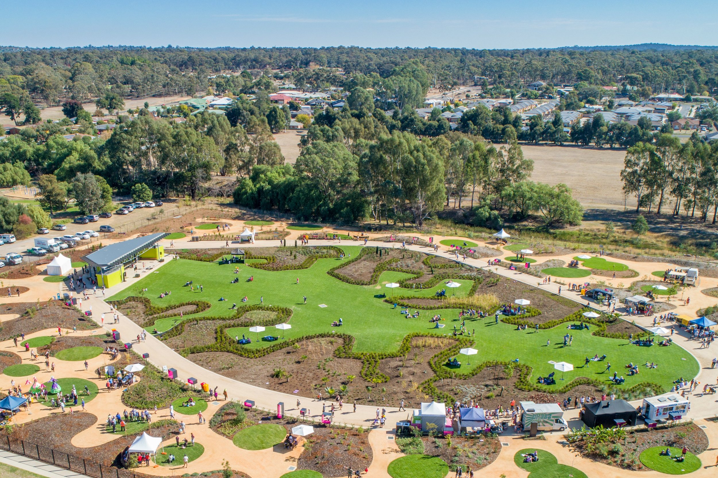 The Bendigo Garden for the Future is designed to weather climate change.