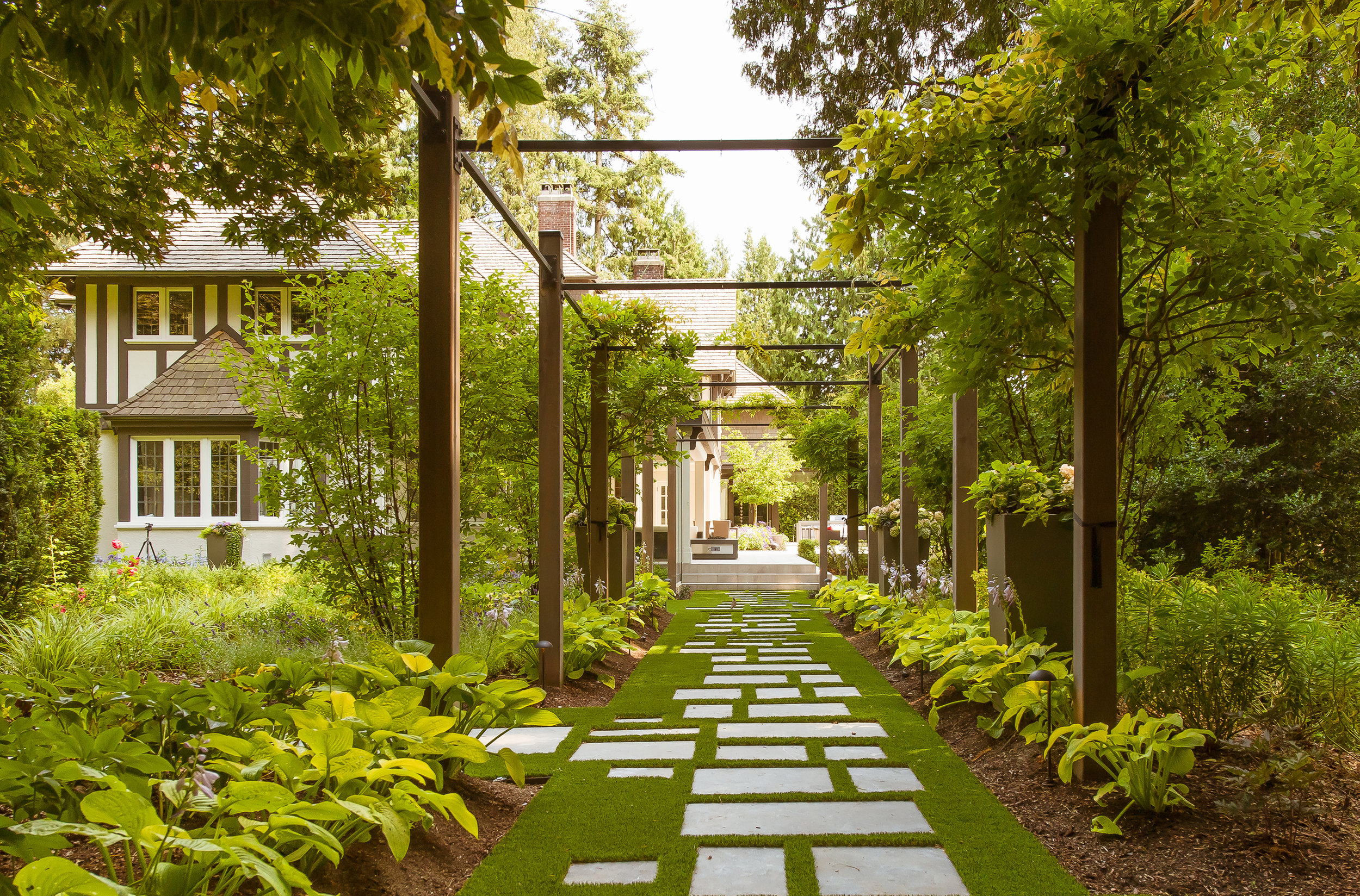 PSLA was responsible for all outdoor spaces in this project. Photo credit - Brett Ryan.