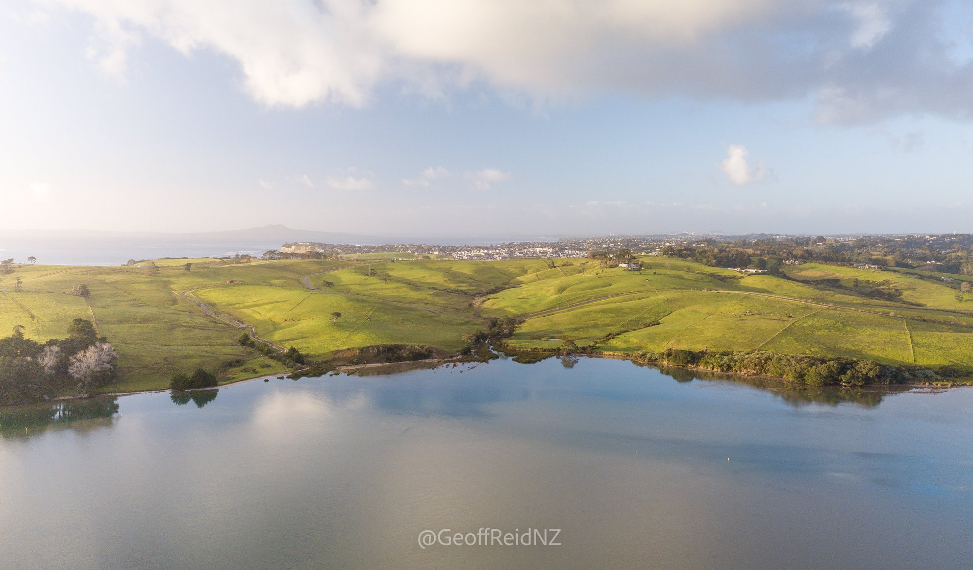 The Okura Estuary is on Auckland's North Shore and is an important wildlife habitat.Photo credit: Geoff Reid, Photographer and Environmentalist.
