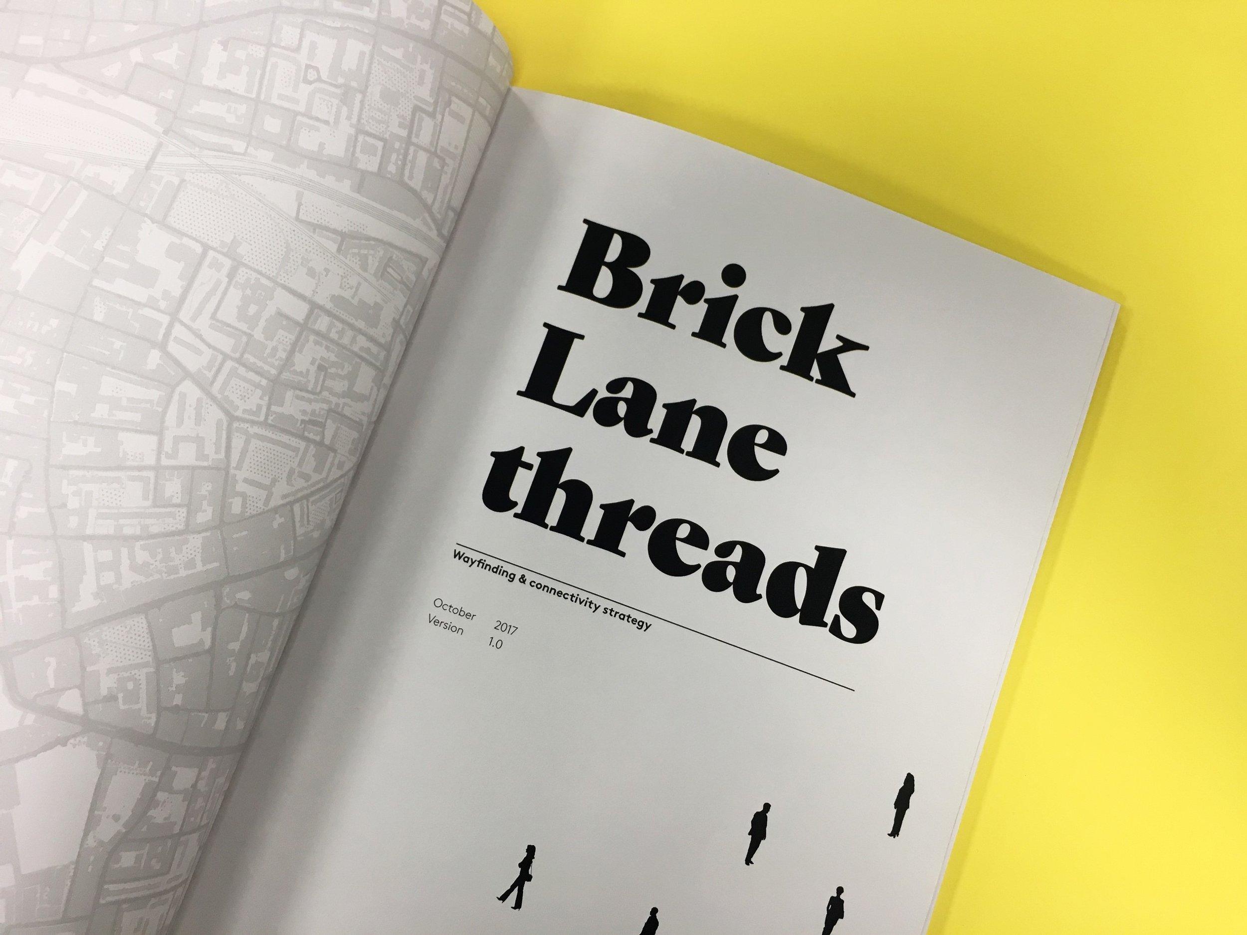 The Brick Lane project is an award winner for Bridget's team.