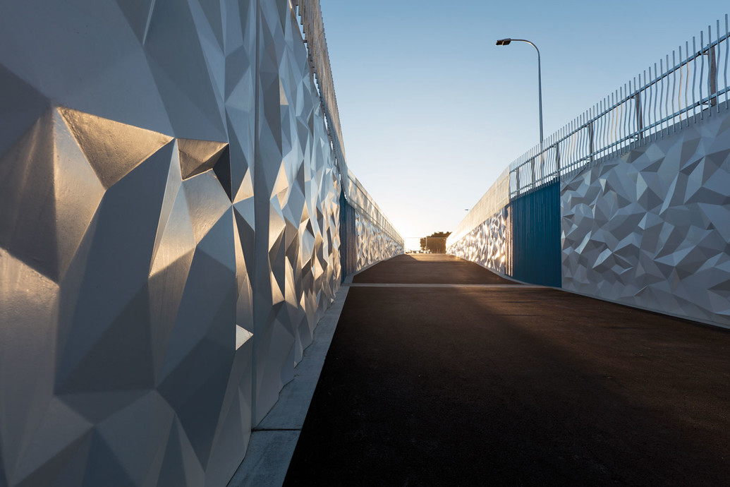 The award winning Harewood Pass project in Canterbury.