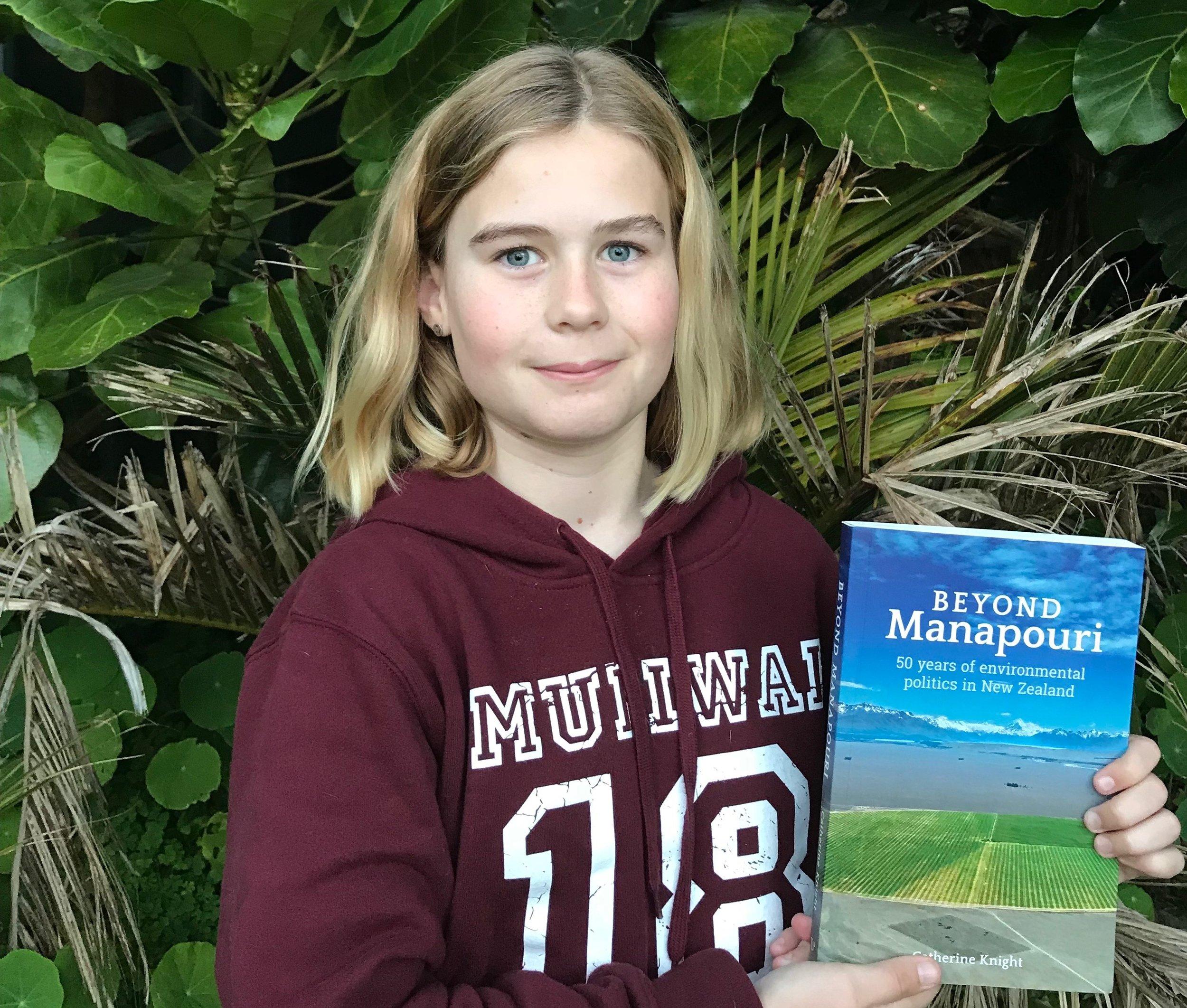 Eleven year old Madi Kensington.