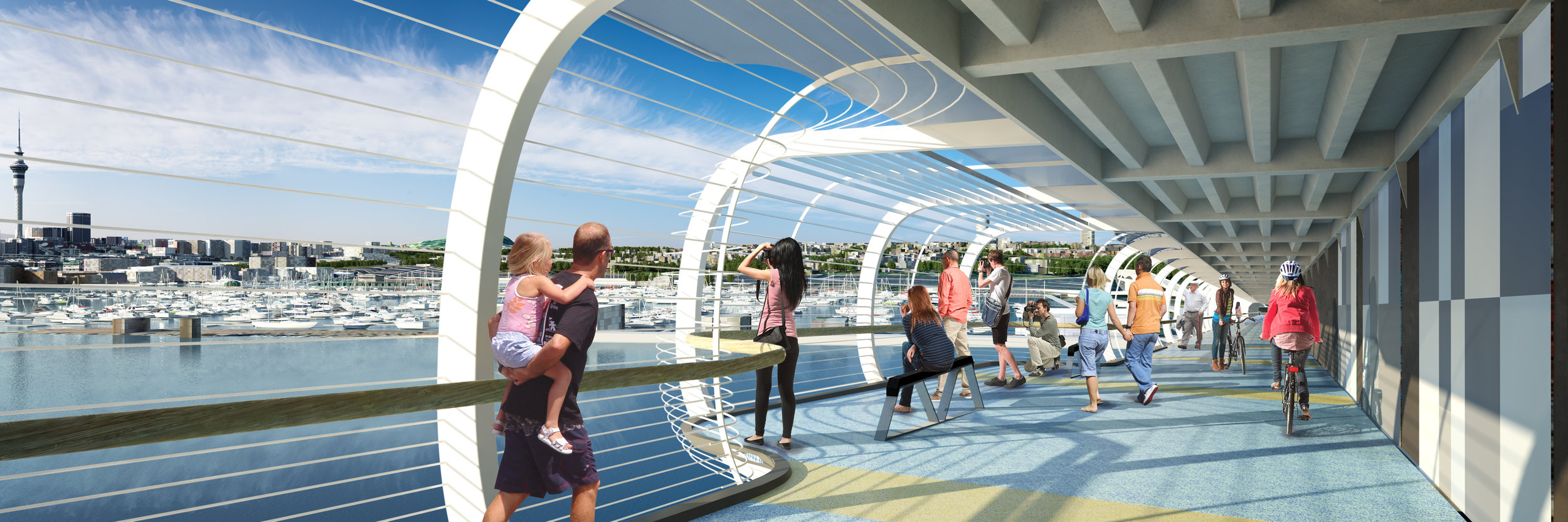 The SkyPath observation deck.  Image credit - Reset Urban Design.