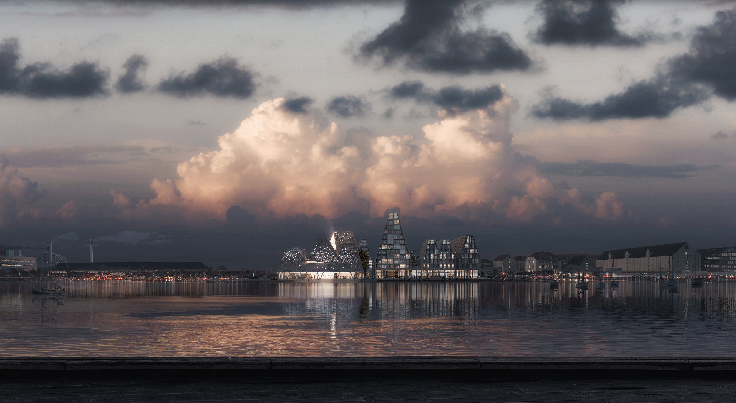 """The cultural centre in Copenhagen sets out to """"define the urban life in the city""""."""