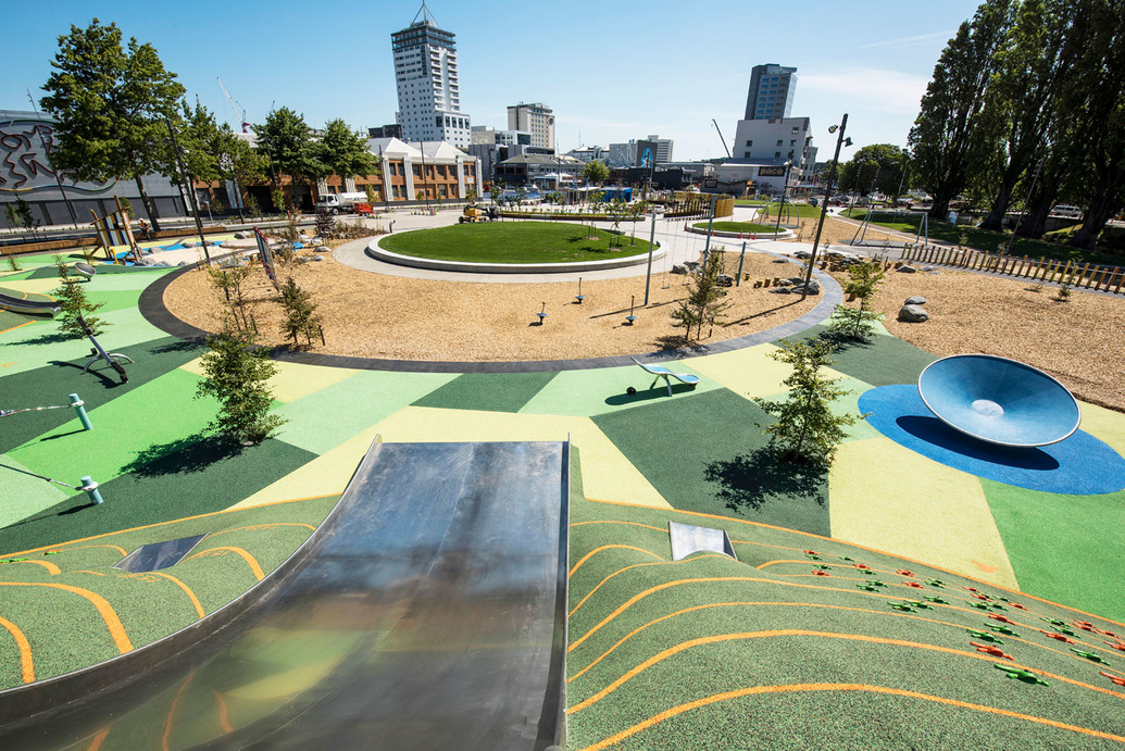 The Margaret Mahy Family Playground in Christchurch - a WSP Opus project.