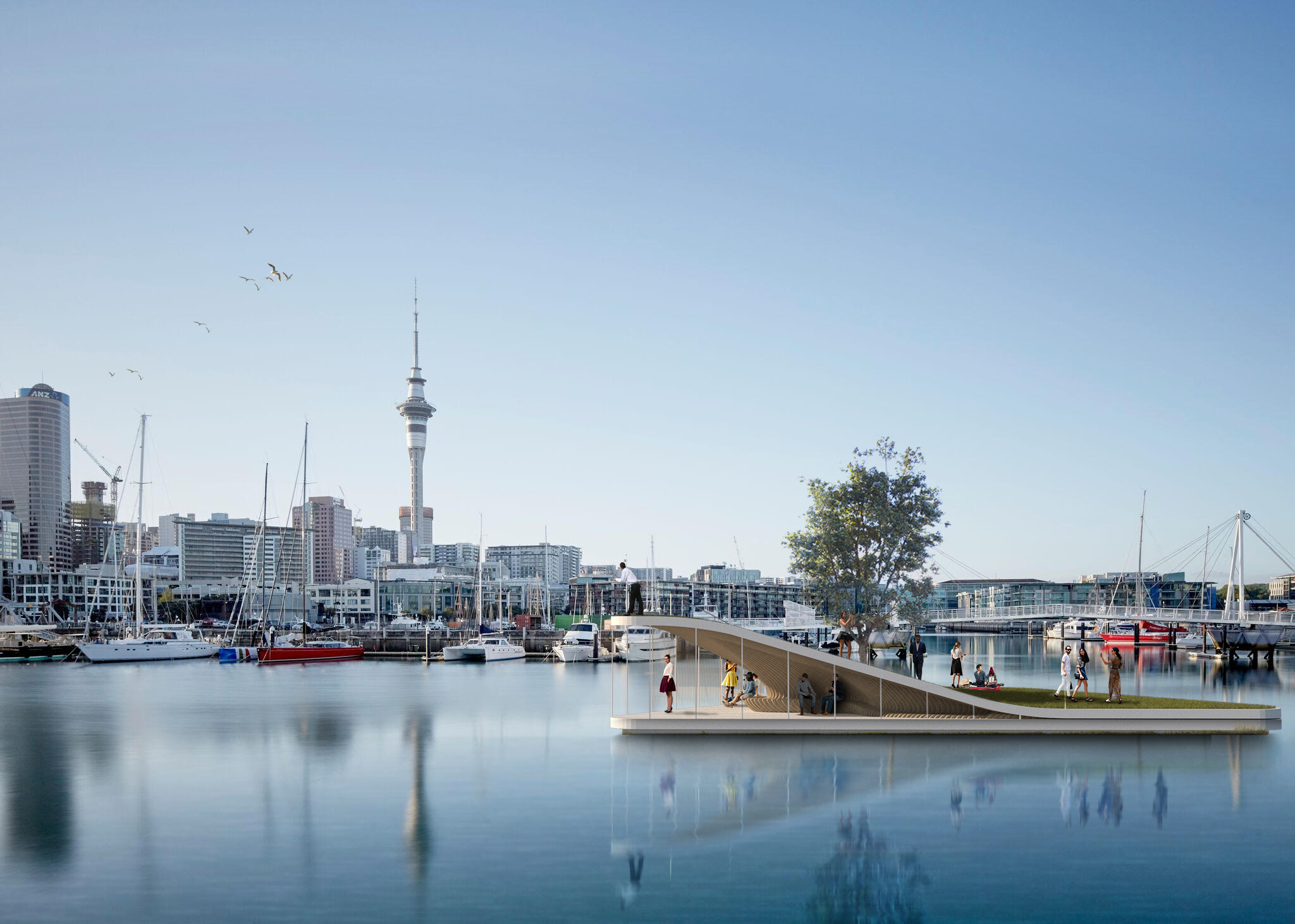 LandLAB's imagined man-made island has been shortlisted in the experimental section of the World Architecture Festival awards.