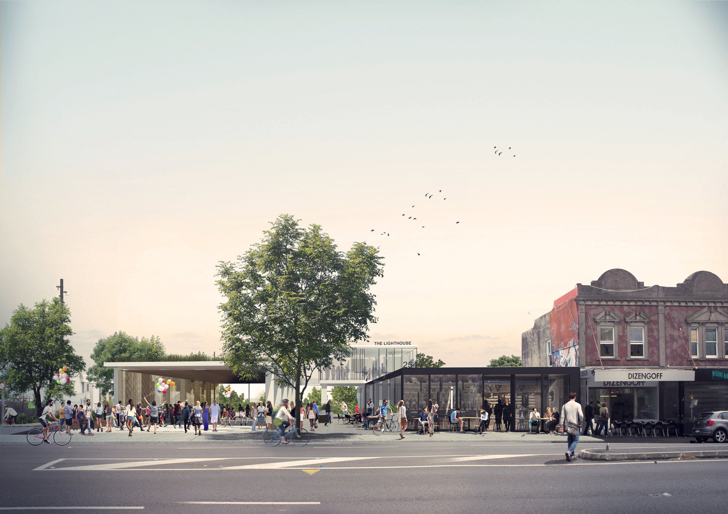 LandLAB's Ponsonby Park design seeks to redefine what a park is.