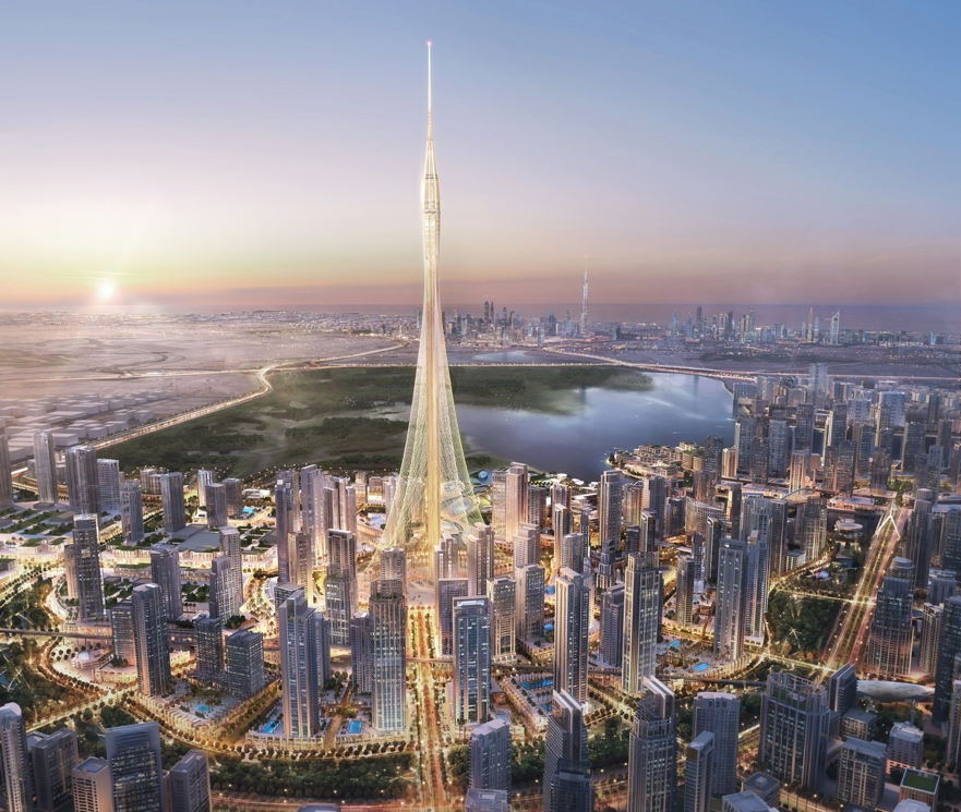 Dubai Creek Tower could end up being the tallest building in the world.