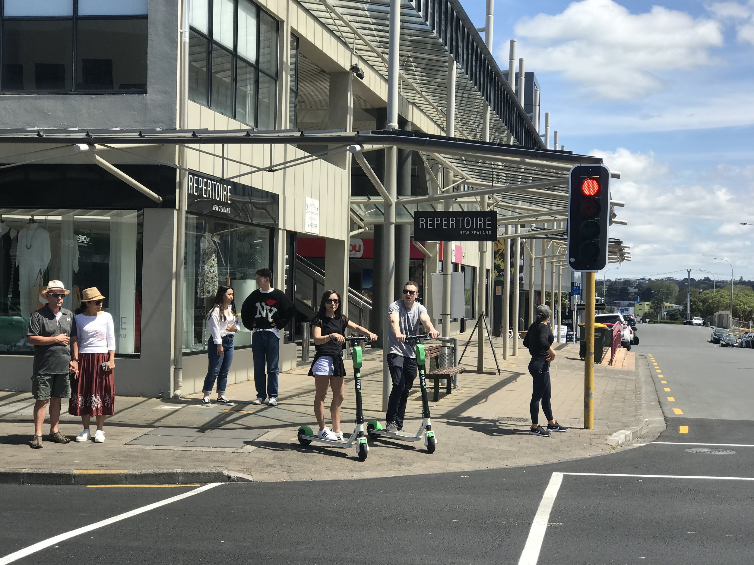 Aucklanders appear to have embraced the scooter scheme quickly.