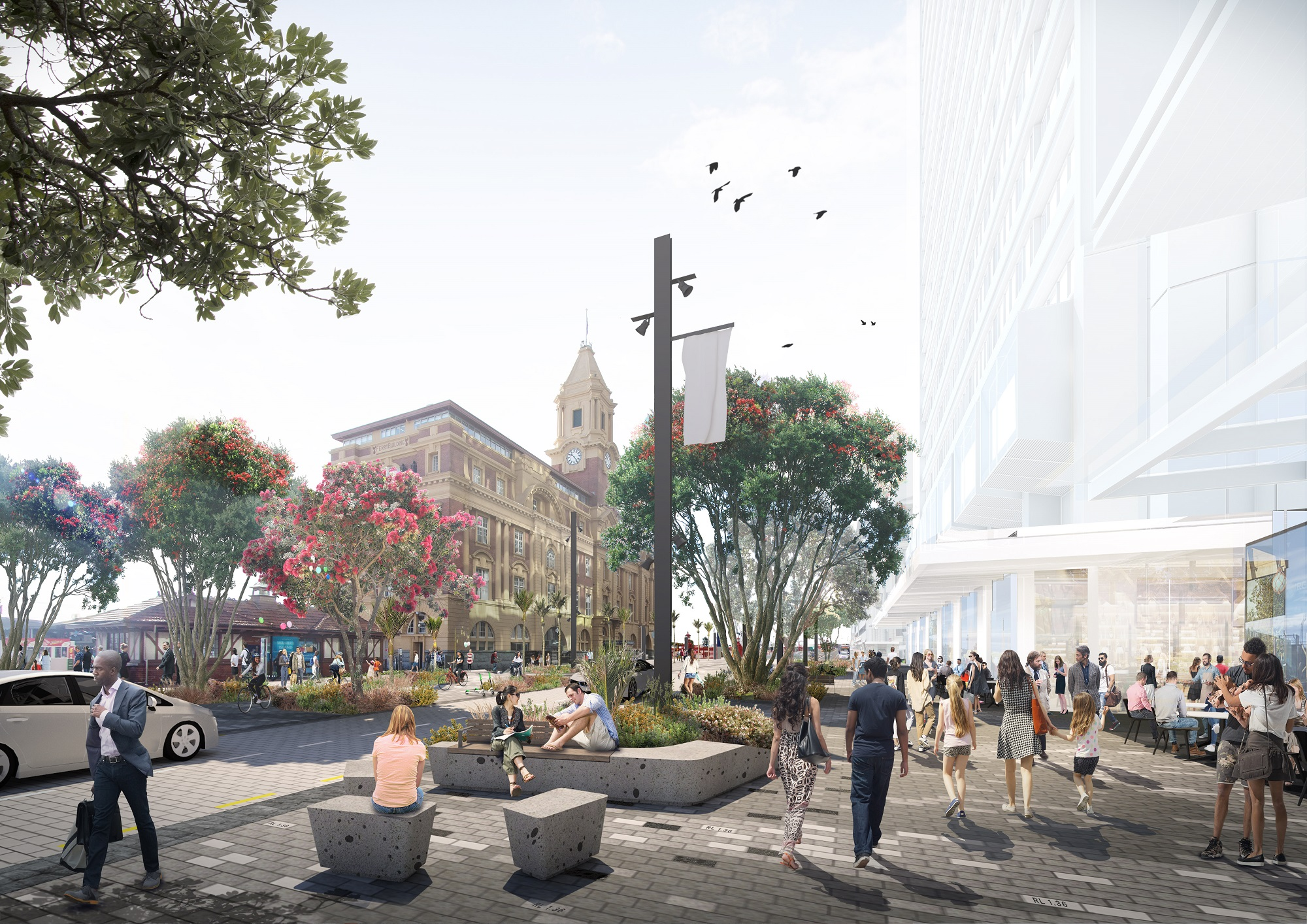 The new downtown aims to be a series of engaging destinations.