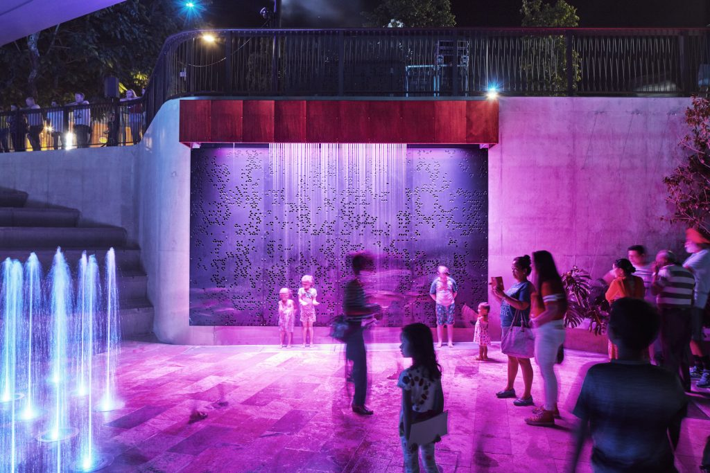 Landscape architects Urbis are behind the Rockhampton Riverside Precinct.
