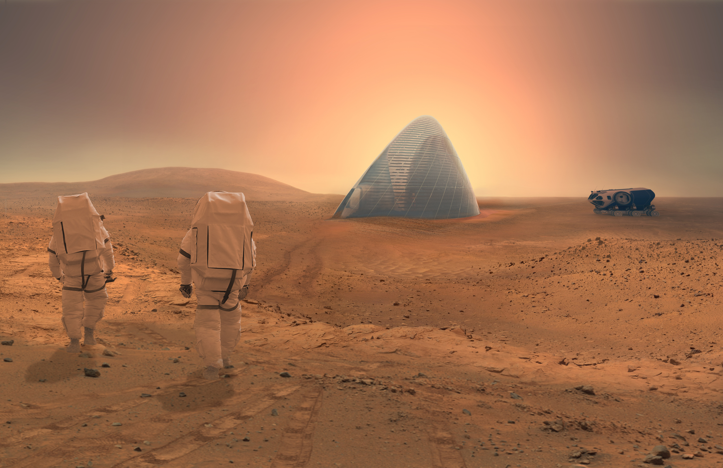 NASA is running a design competition to develop a 3-D model for a structure on Mars.