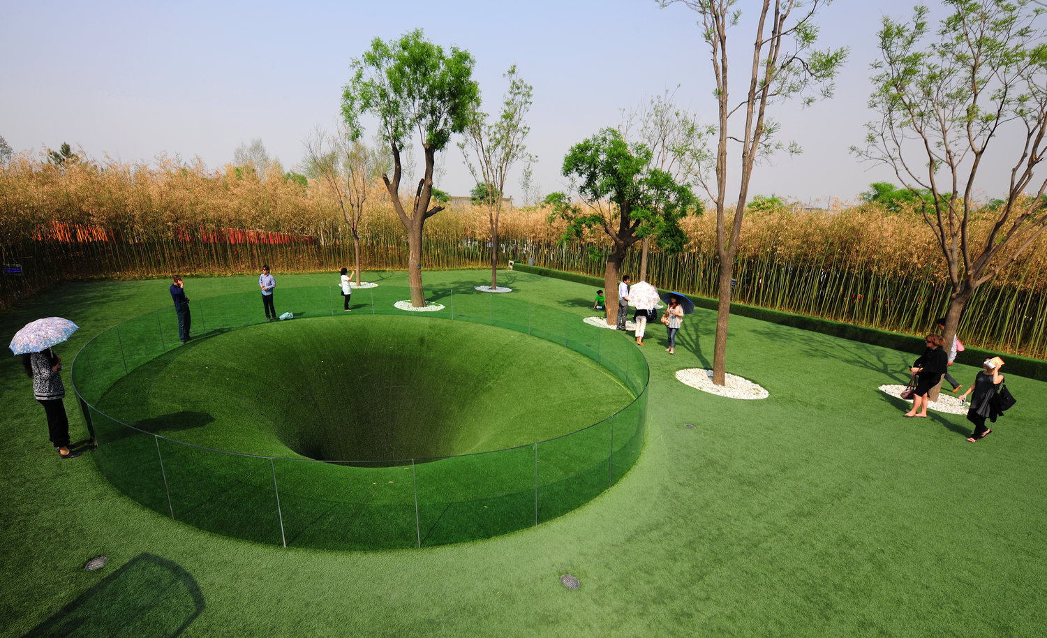 The Big Dig in Xi'an, China. This is a project by TOPOTEK1, the company founded by Martin Rein-Cano