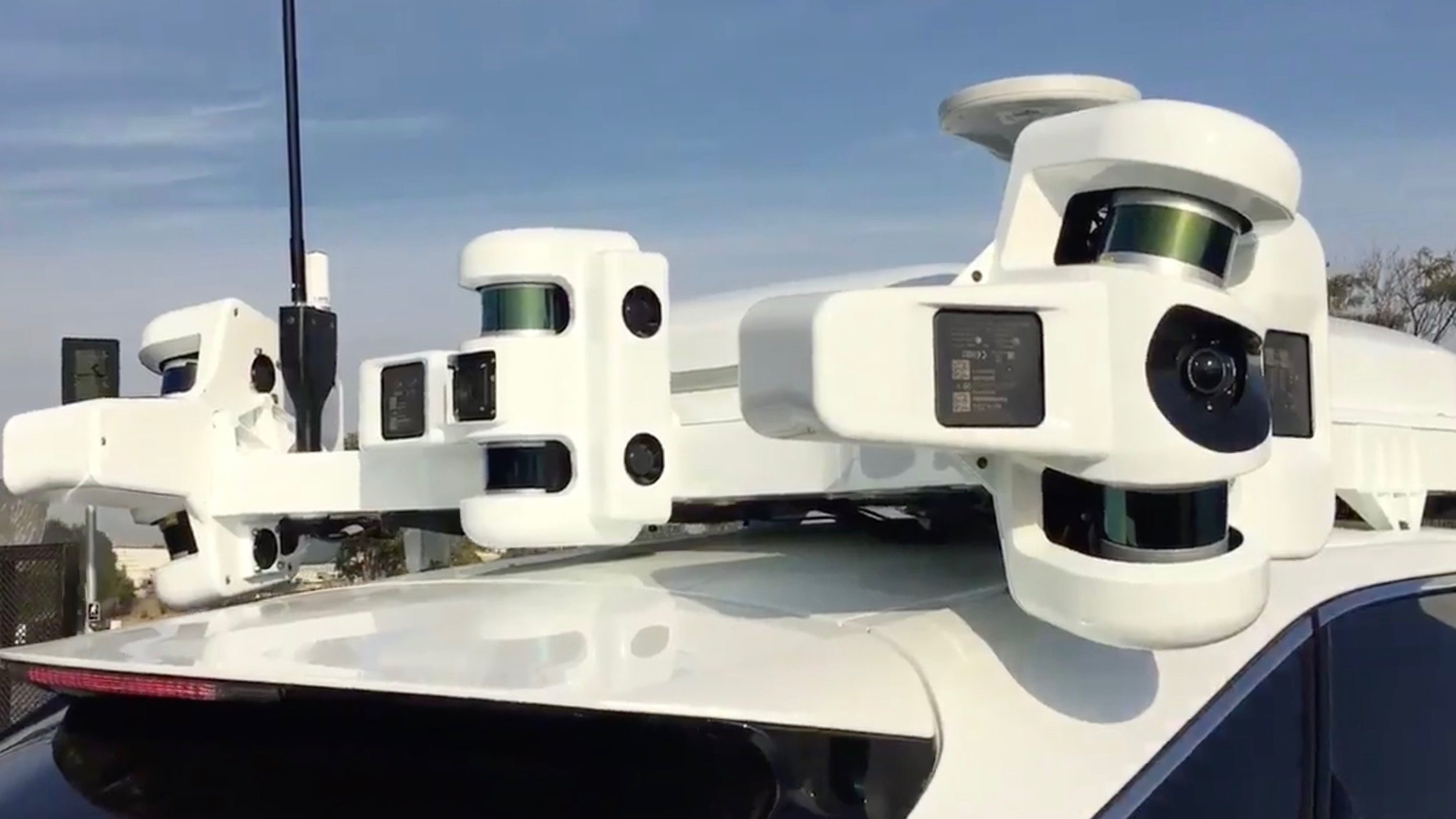 Apple now has 70 driverless cars undergoing testing on California roads. Image credit - Apple.