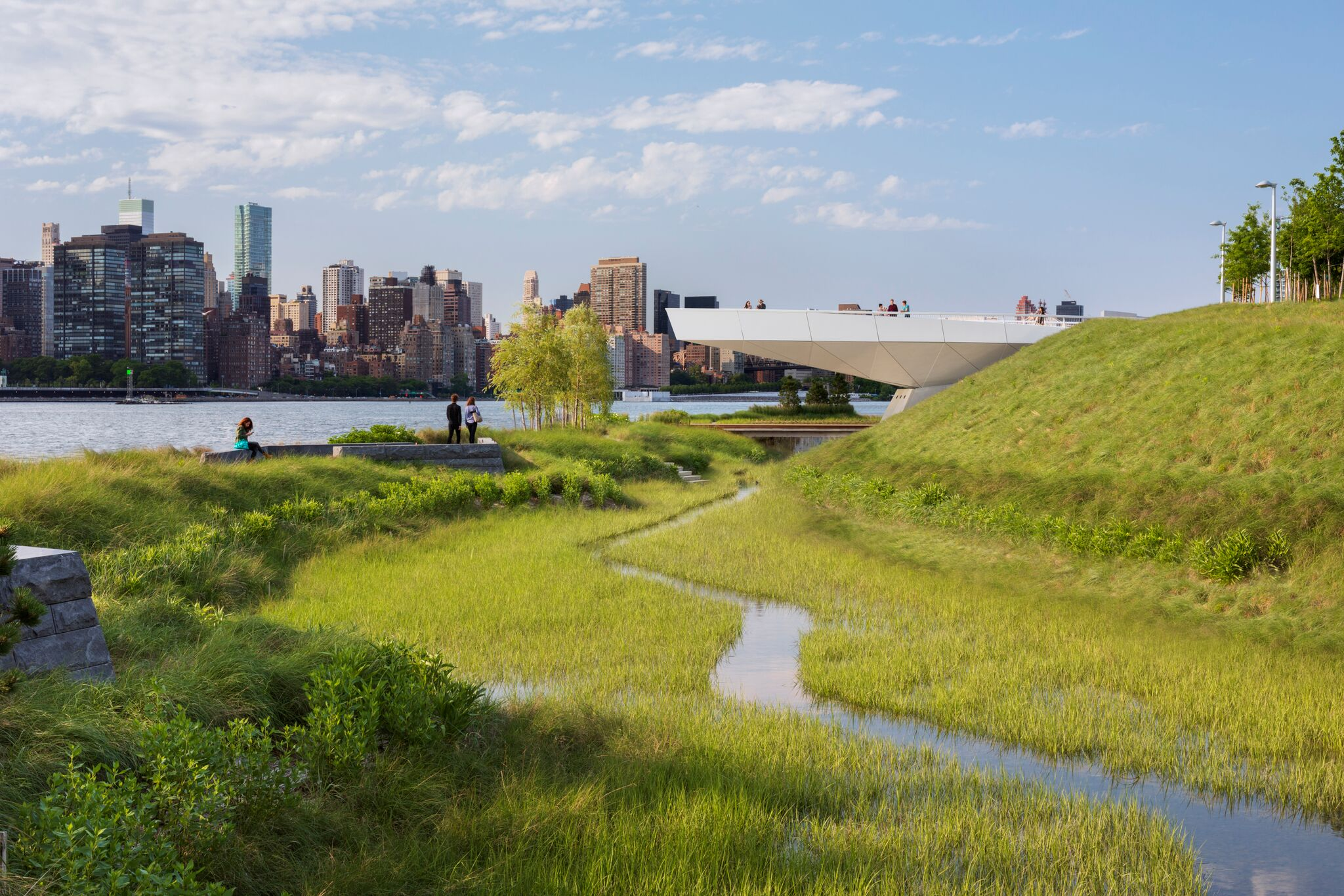 Hunters Point South Waterfront Park is 'an international model of urban ecology.'