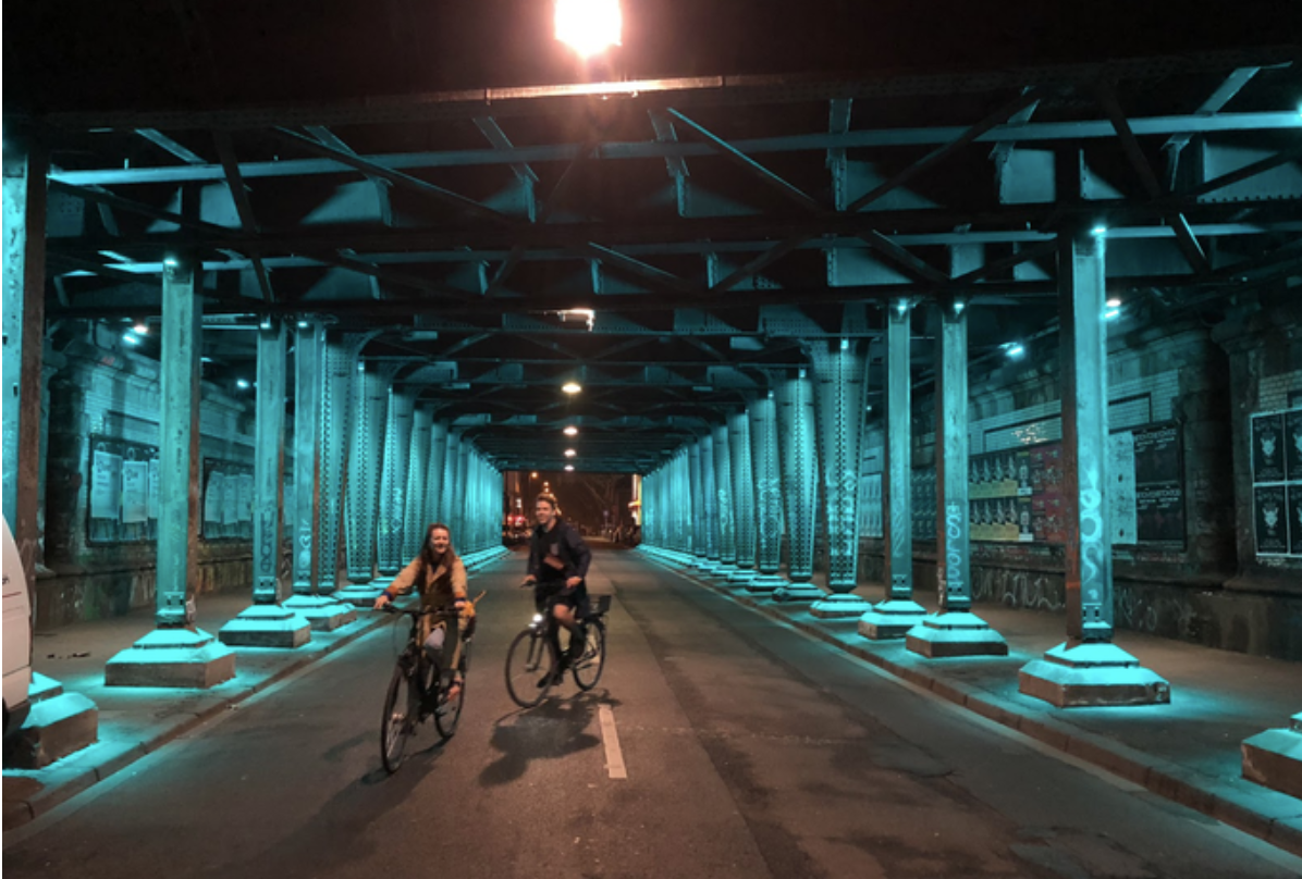 Emma McInnes suggests Auckland could develop some of its underpasses to make them safe and interesting like this one in Germany.