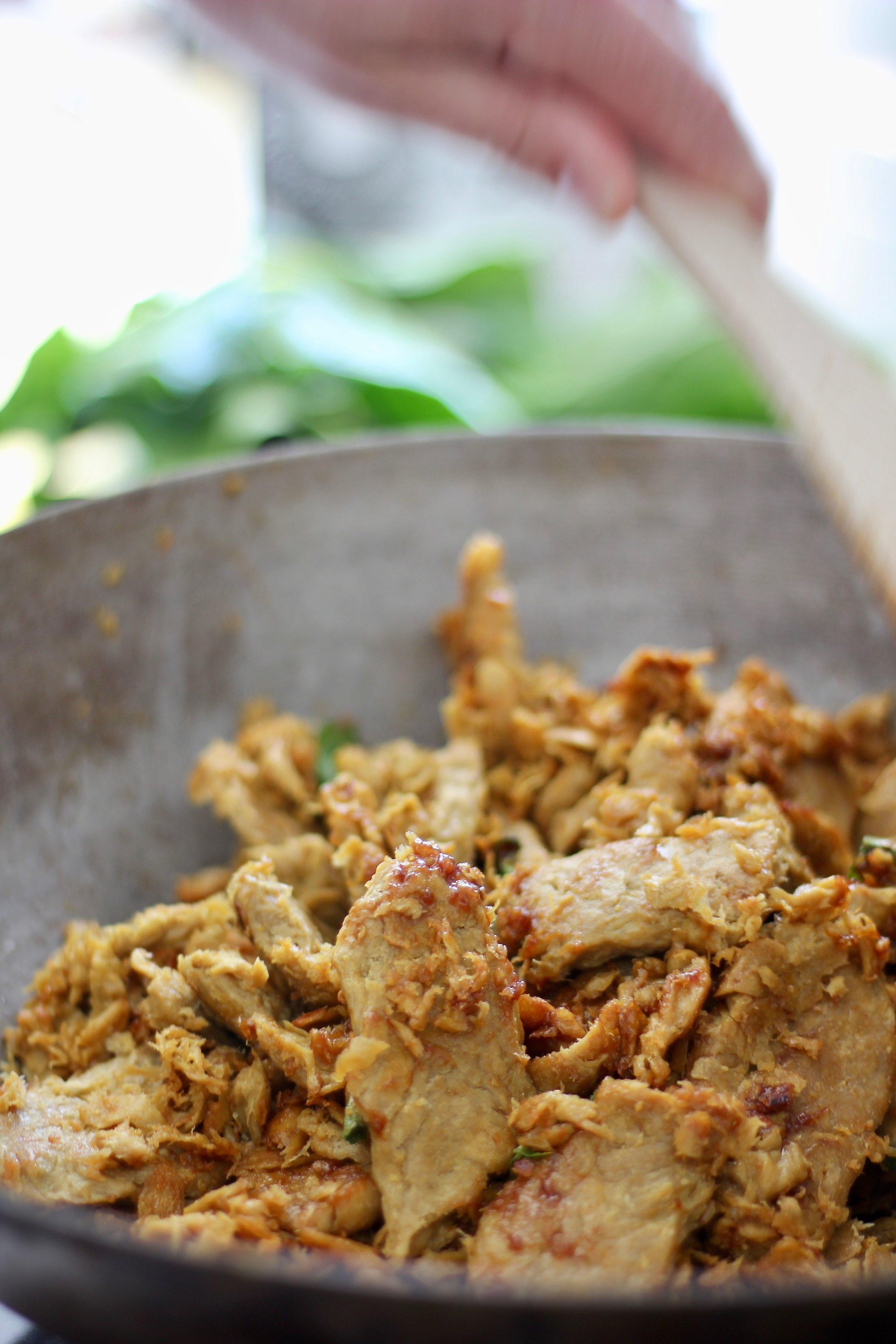 Sunfed Meats chicken-free chicken.