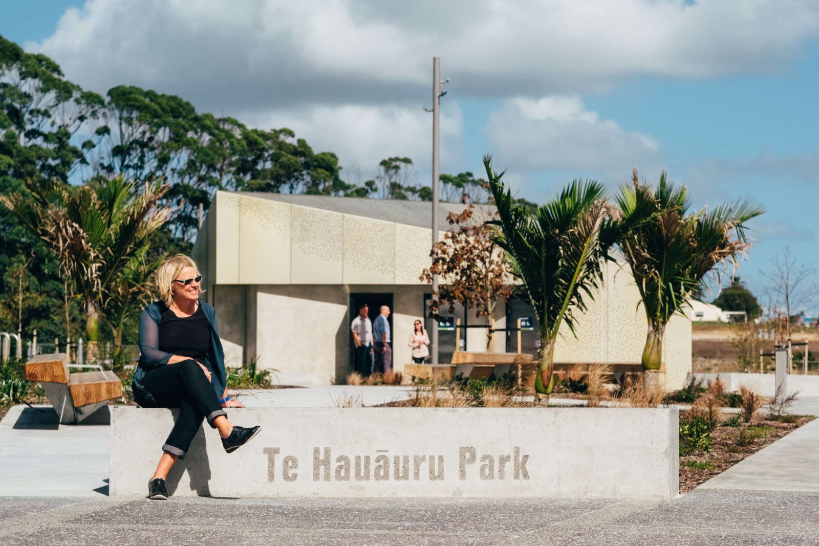 The 1.1ha park provides quality open space to support the future growth of Westgate.