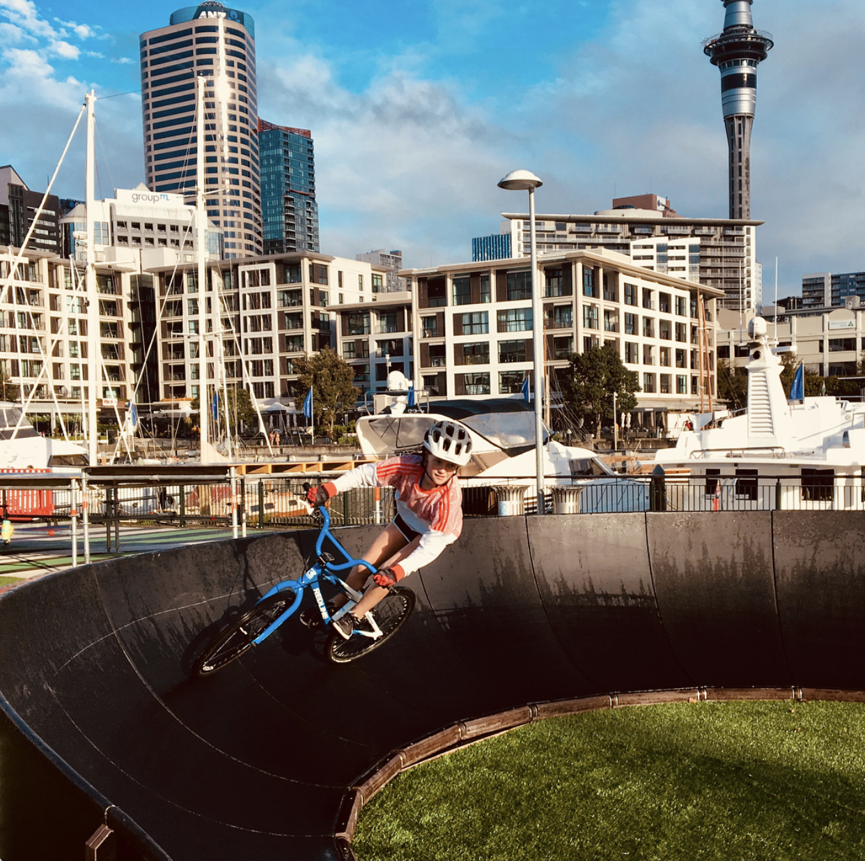 Auckland Council has used Pumptrack in several sites.