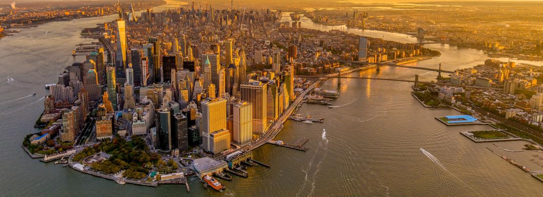 Because Lower Manhattan is a critical economic, cultural, and civic hub for New York City and the region, the impacts of climate change on Lower Manhattan will extend far beyond the District. Photo credit: Lower Manhattan Resilience Study