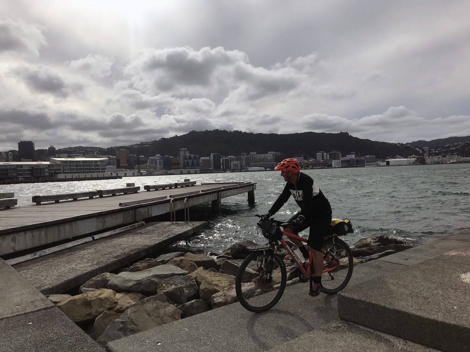 Ralph Johns combined his love of cycling with his love of landscape spending eleven days visiting most of the 25 Isthmus projects documented in a book he co-wrote called Coast, Country, Neighbourhood, City.