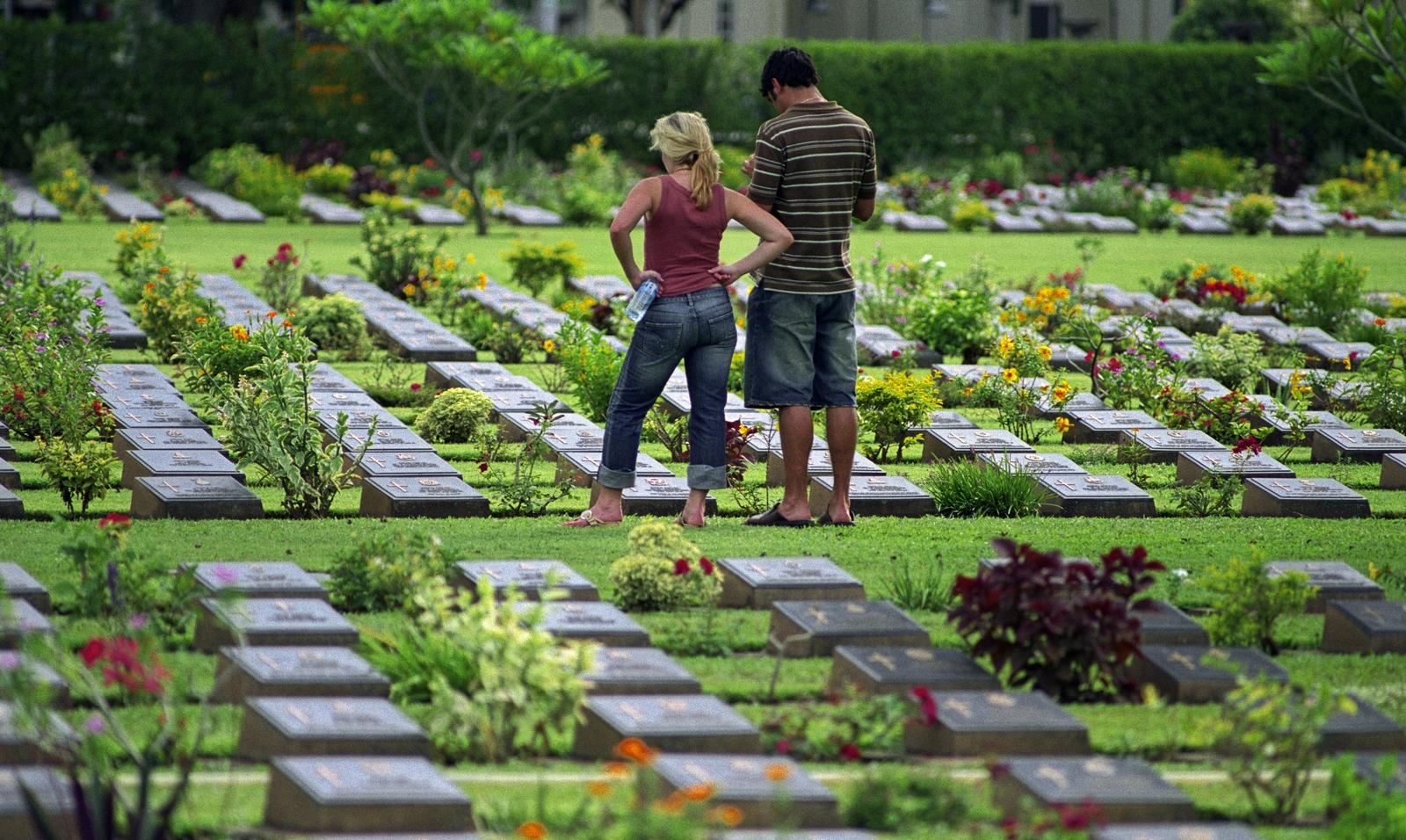Kanchanaburi War Cemetery, Thailand. Photo credit: Commonwealth War Graves Commission