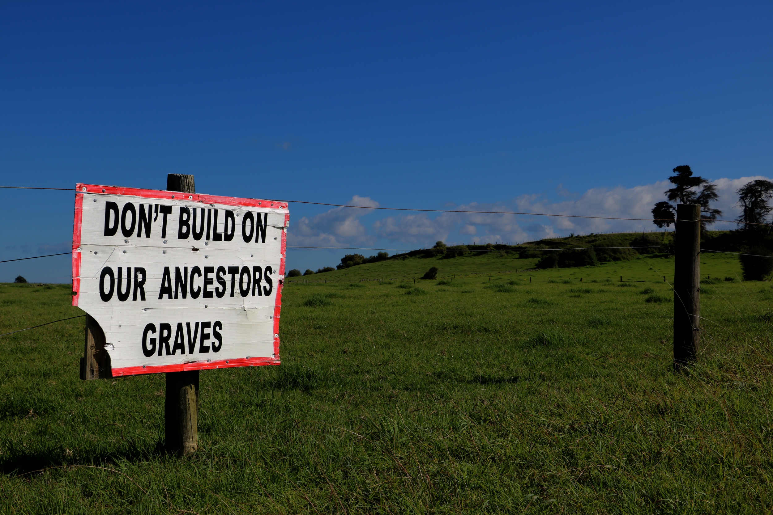 Campaigners are trying to stop a major housing development at Ihumaatao, Mangere from going ahead. The site has cultural significance to Maori.