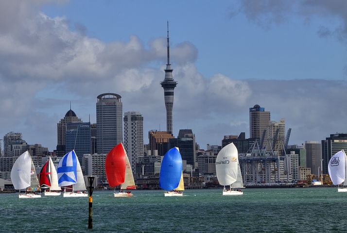Team New Zealand will begin its defence in Auckland in 2021.