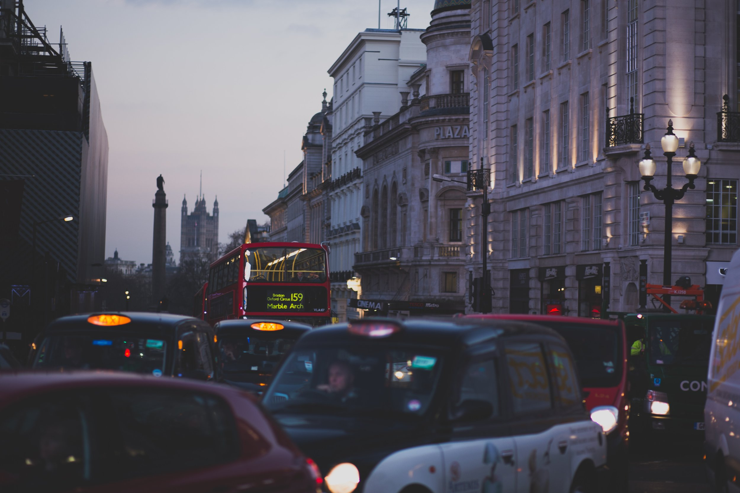 There are 2.56 million licensed cars in London.