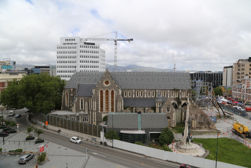 The Christ Church Cathedral has been a city landmark since it was built between 1864 and 1904. Photo credit: Tim Church