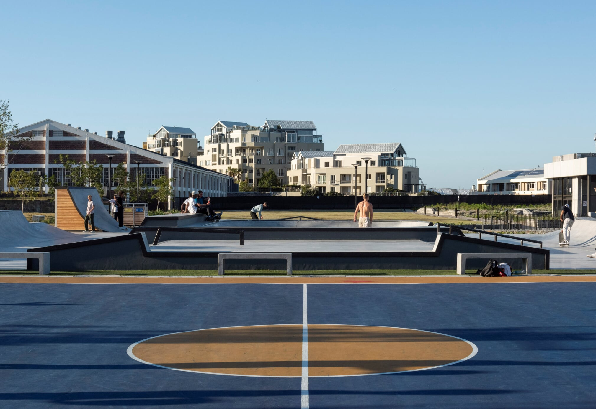 Battery Park is now a space designed to engage the community. Image credit - Dave Southwood.