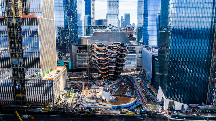 Hudson Yards is said to be the biggest real estate project in the U.S. Image credit - Nelson Byrd Woltz.